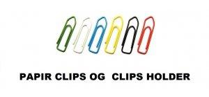 PAPIR CLIPS OG  CLIPS HOLDER.