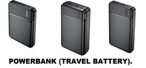 POWERBANK (TRAVEL BATTERY).
